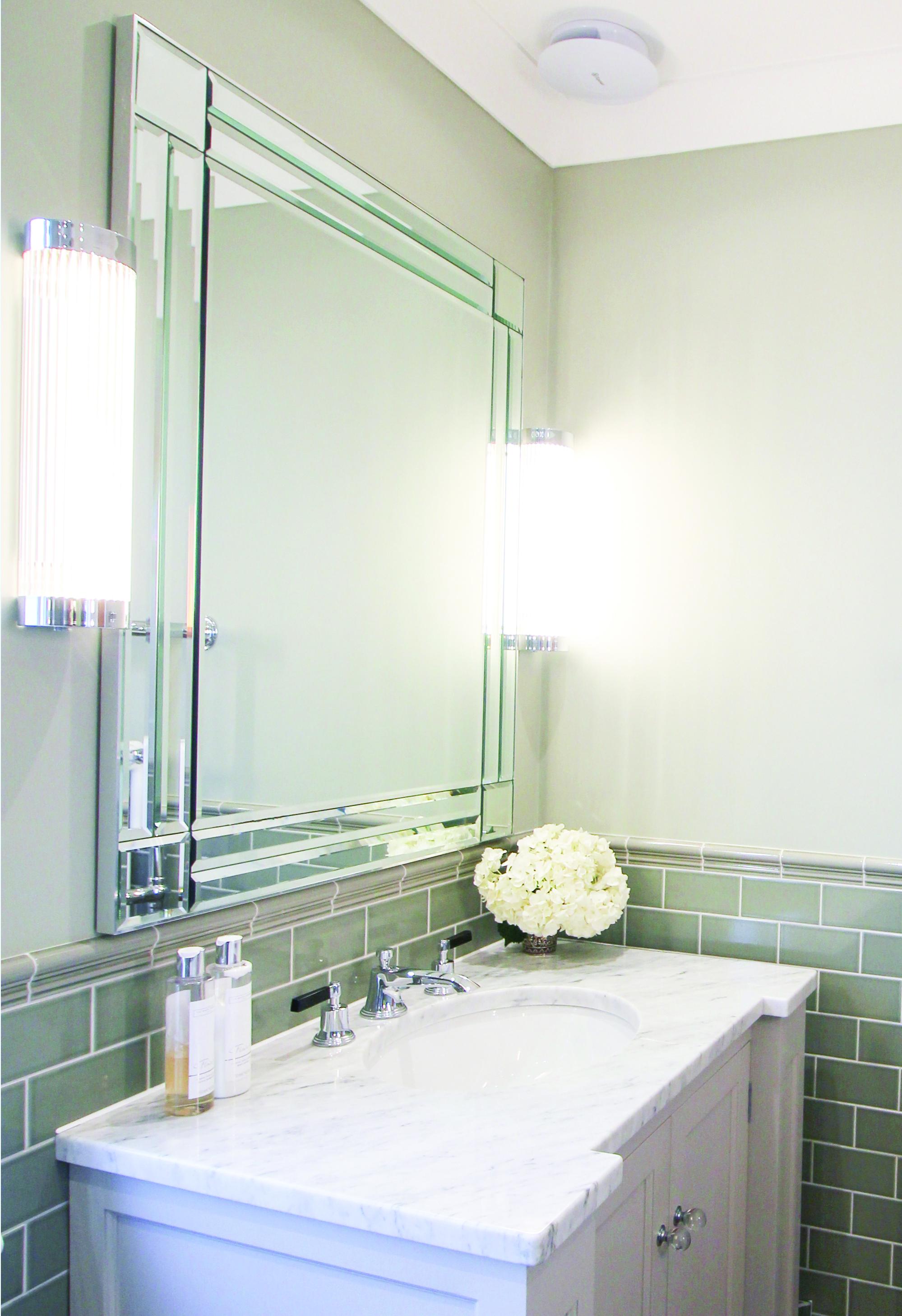 Art Deco Glamour Bathroom Opun Home Improvement Experts